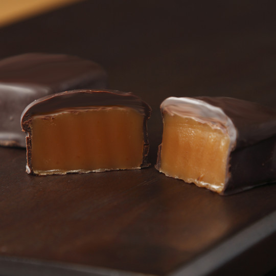 Dark Chocolate Covered Caramel